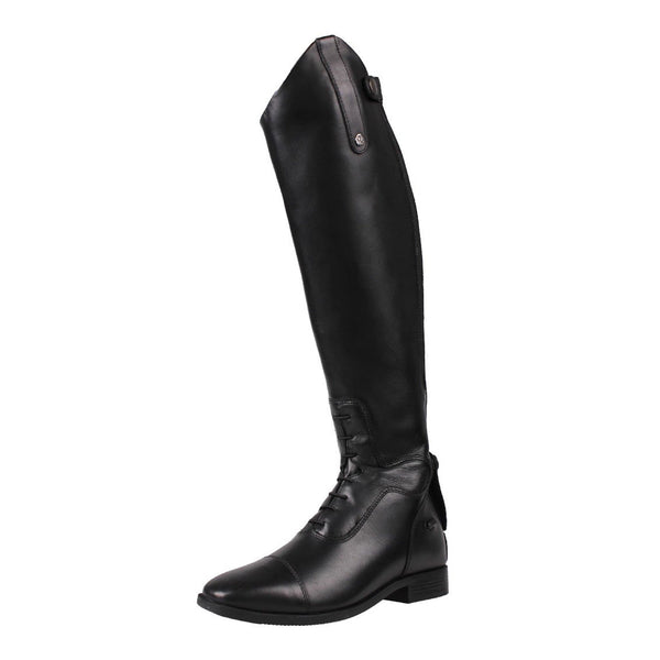 QHP Verena Riding Boots Black Outside Front
