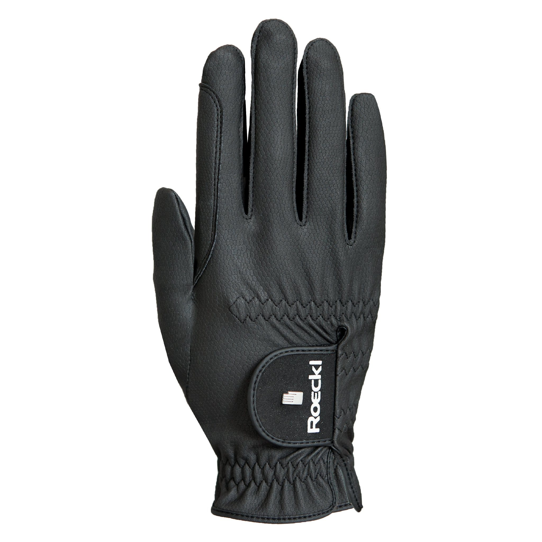 Roeckl Chester Pro Gloves 3301-108-000 Black Back View
