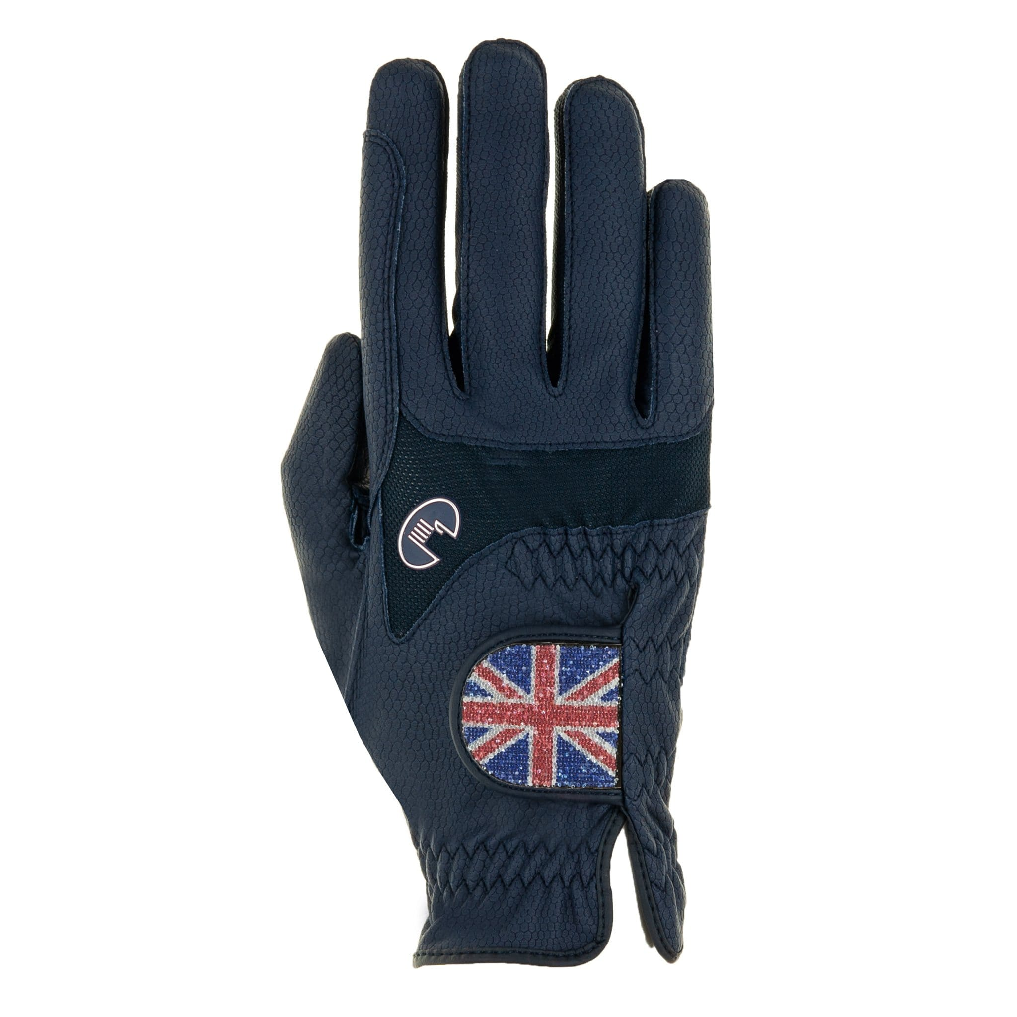 Roeckl Maryland Gloves 3301-282 Navy UK Flag Studio