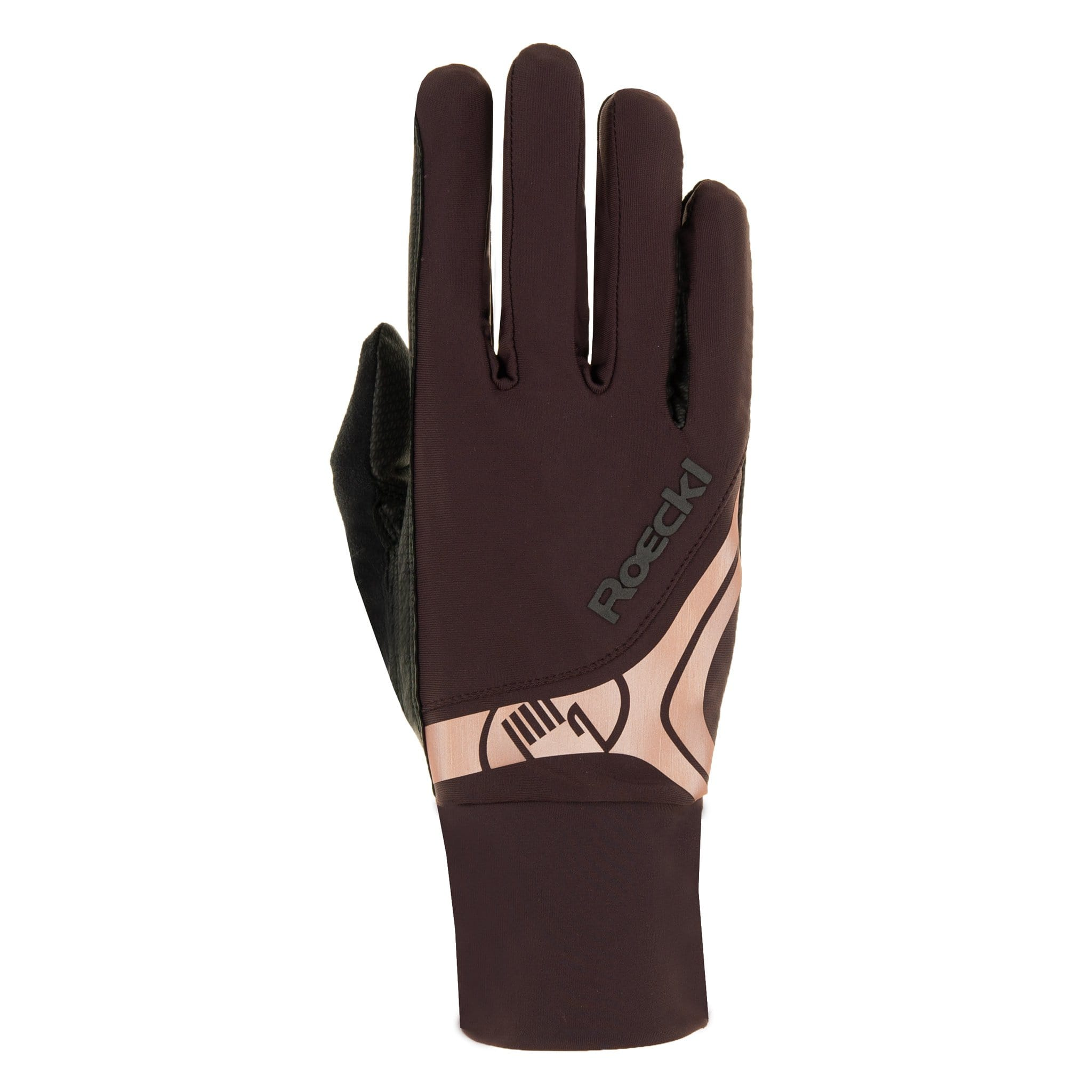 Roeckl Melbourne Gloves 3301-283 Mocha and Rose Gold Studio