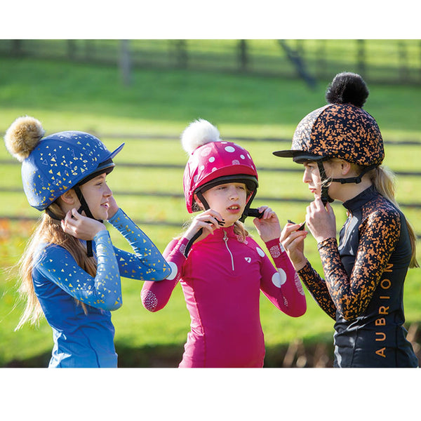 Shires Aubrion Alverstone Hat Cover 8212 All Colours On Kids