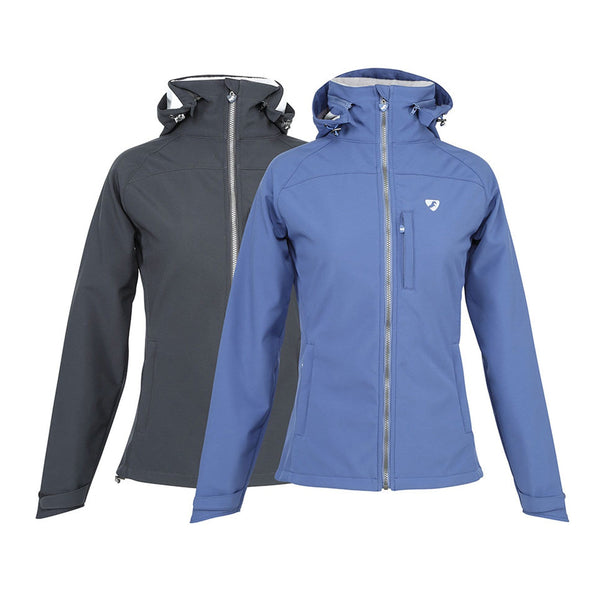 Shires Aubrion Foresta Softshell Jacket 8105 Black and Blue