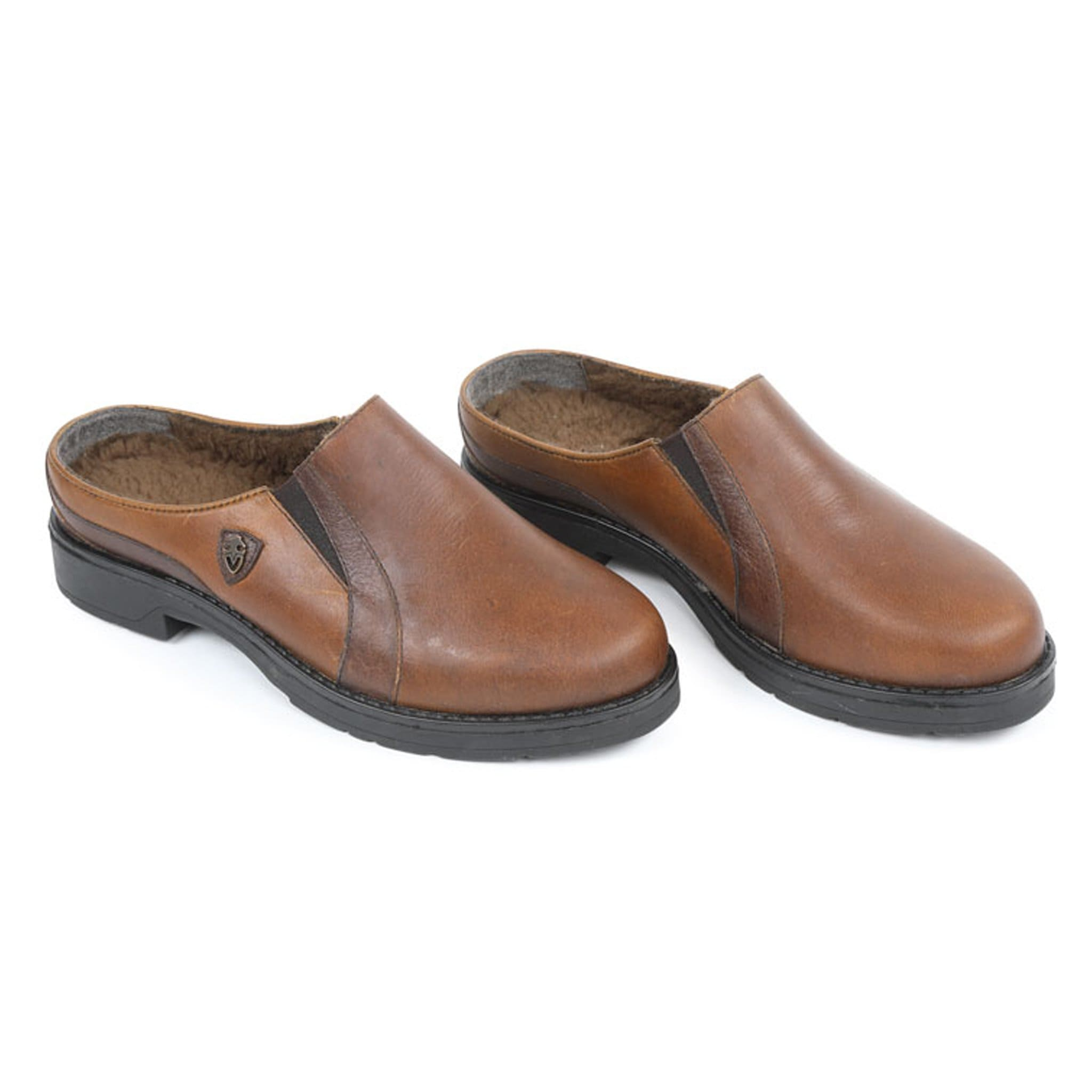 Shires Moretta Donna Clogs Brown 8224