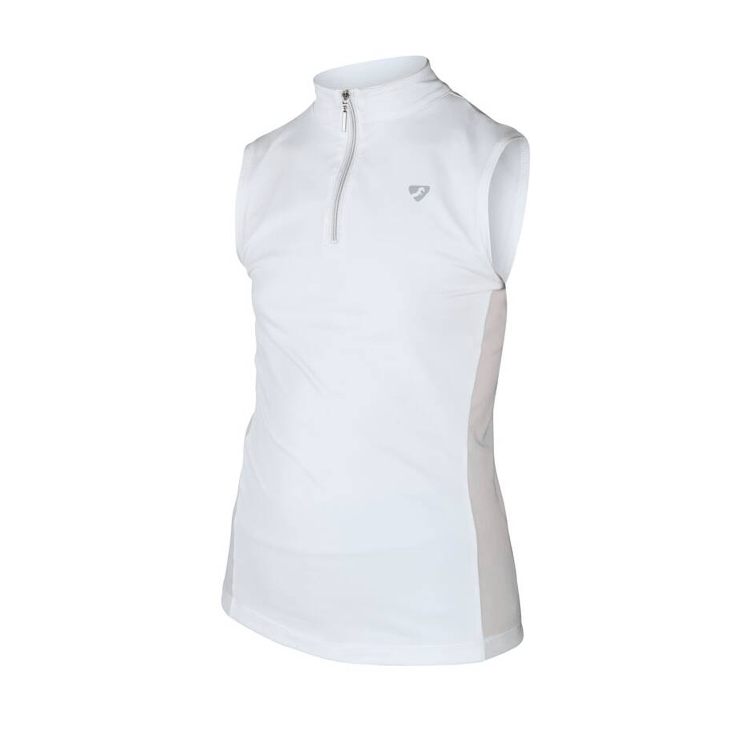 Shires Girl's Aubrion Elden Sleeveless Show Shirt | Free UK Delivery - EQUUS