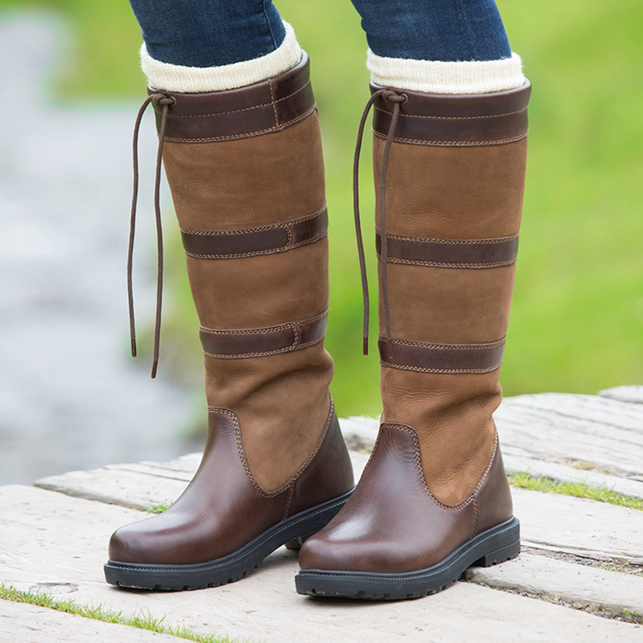 Shires Moretta Teo Country Boots 958 Brown