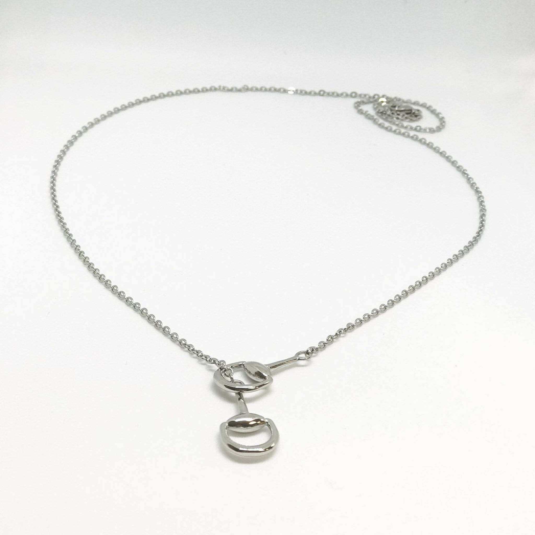 Equetech Snaffles Bit Necklace Studio