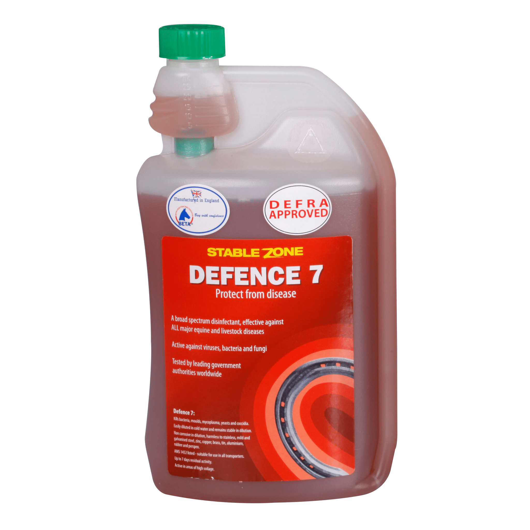 Animal Health Company Defence 7 SPE0190 1 Litre