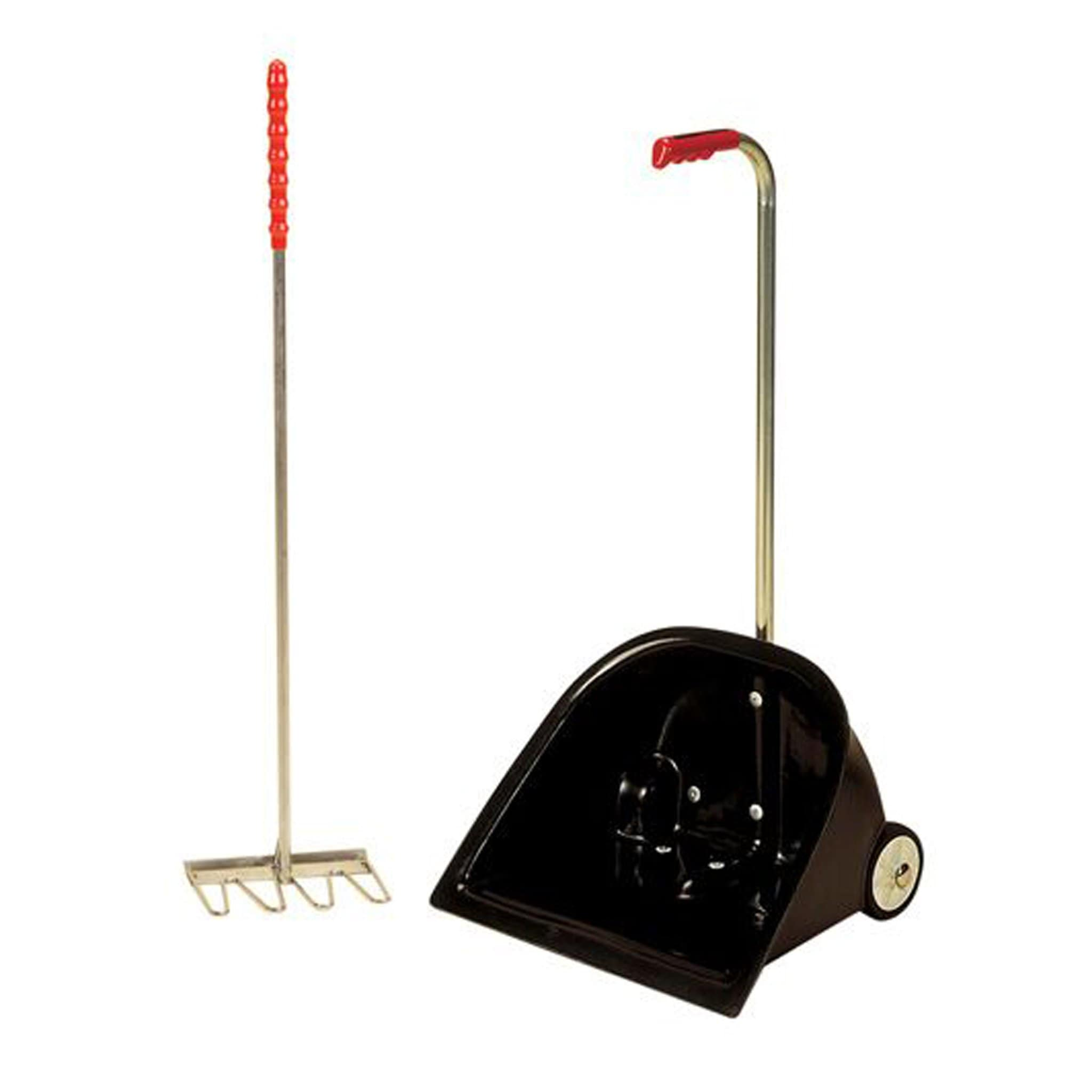 Stubbs Super Scooper Manure Collector Black