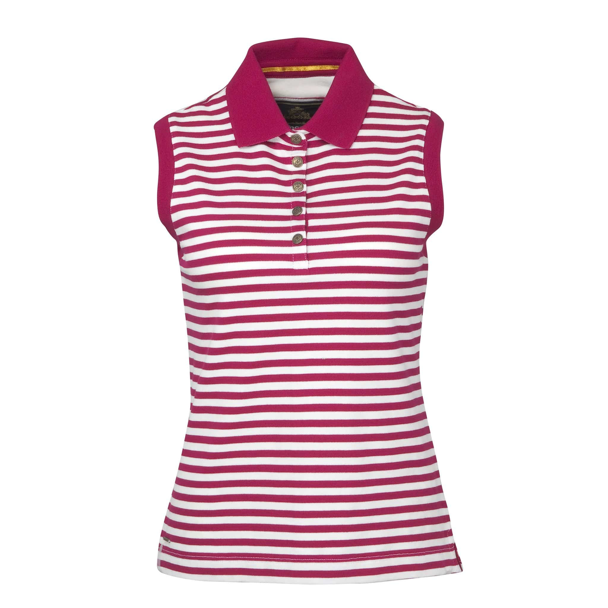 Toggi Effie Sleeveless Polo Shirt Red