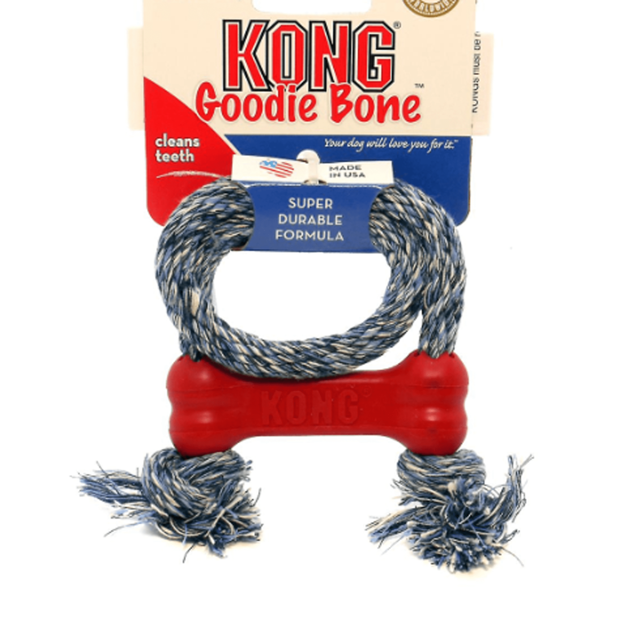 Kong Goodie Bone Extreme with Rope KON0355
