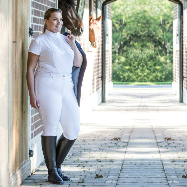 BRECK Tuffa Breckland Plus Size Leather Long Riding Boots