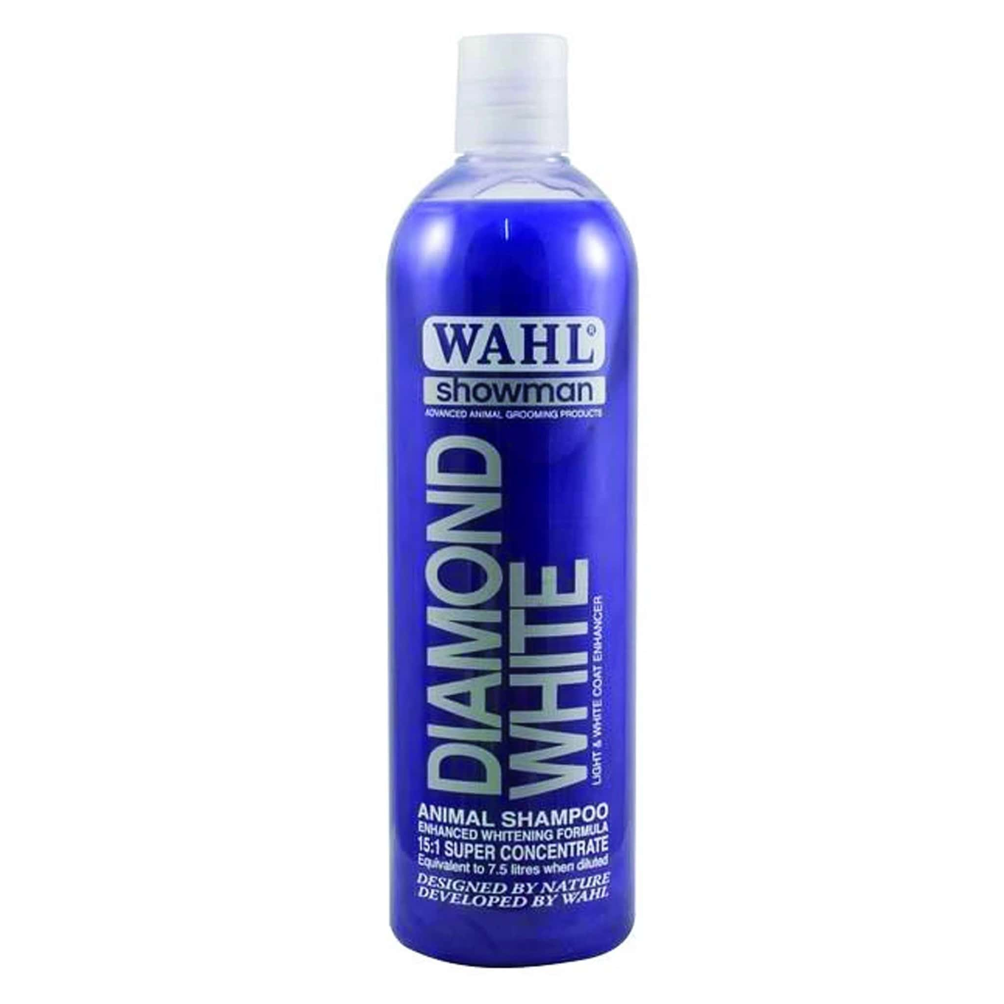 Wahl Showman Diamond White Shampoo 500ml WHL0110