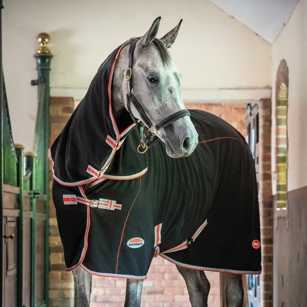 Weatherbeeta Therapy-Tec Combo Neck Rug Horse Inside Barn