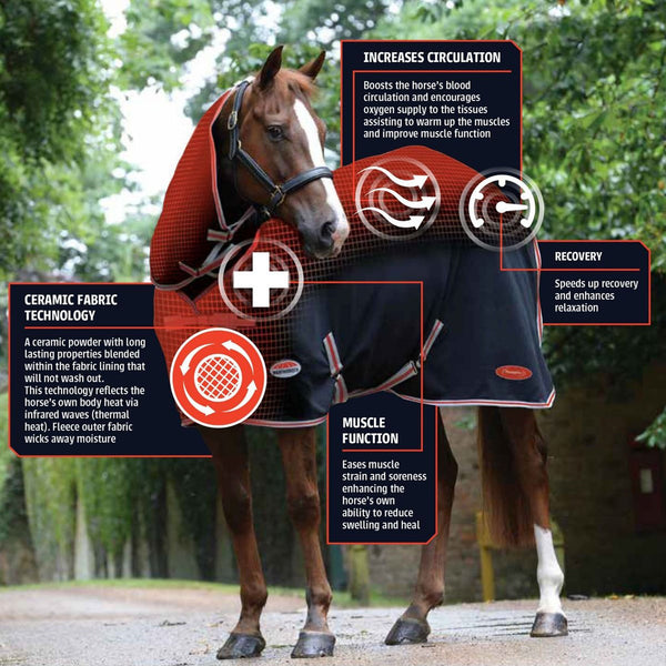 Weatherbeeta Therapy-Tec Combo Neck Rug Science Details