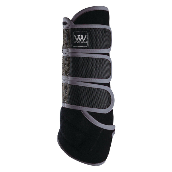 Woof Wear Colour Fusion Dressage Wraps Steel WB0061