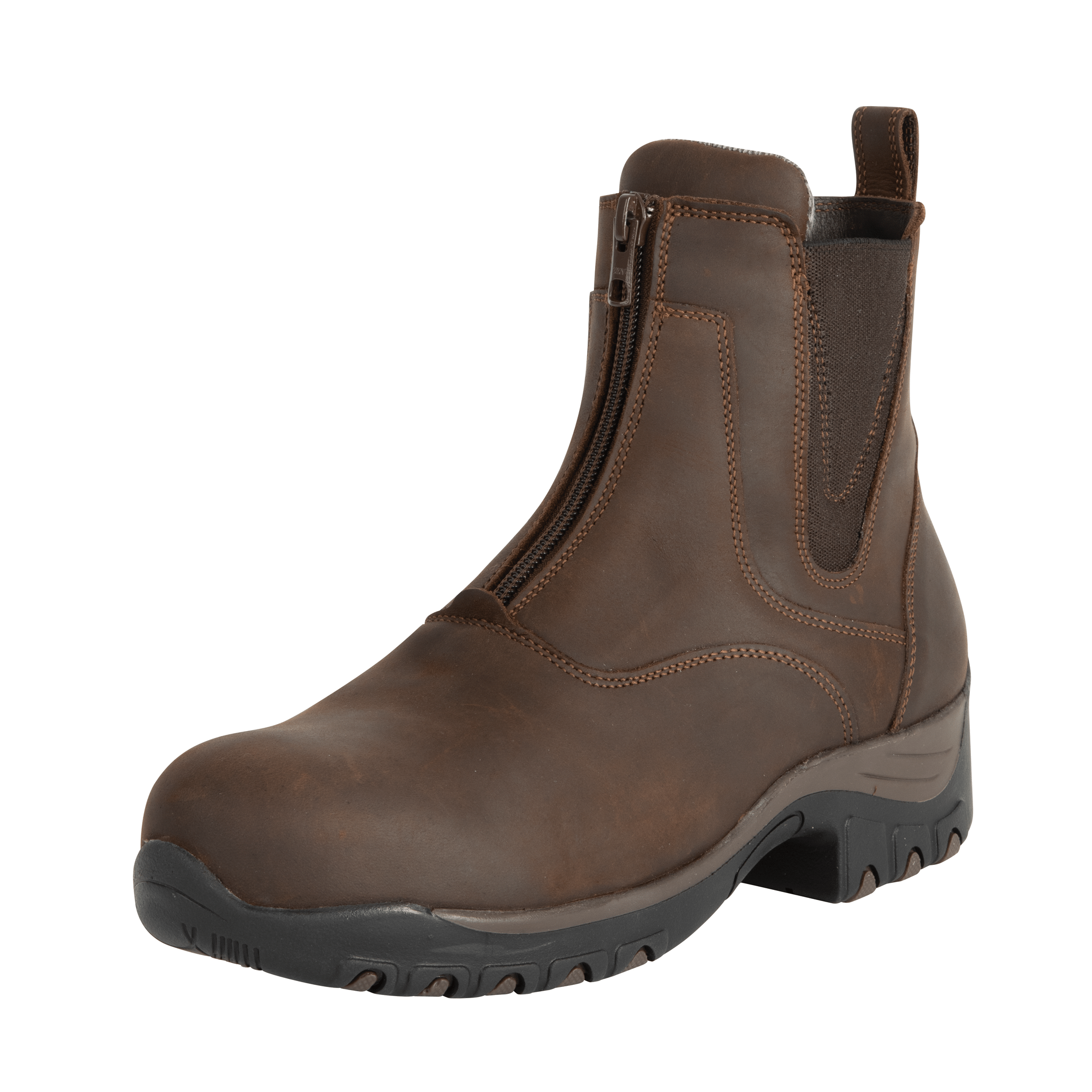 Fonte Verde Luso Jodhpur Boot WF0105 chocolate bown front