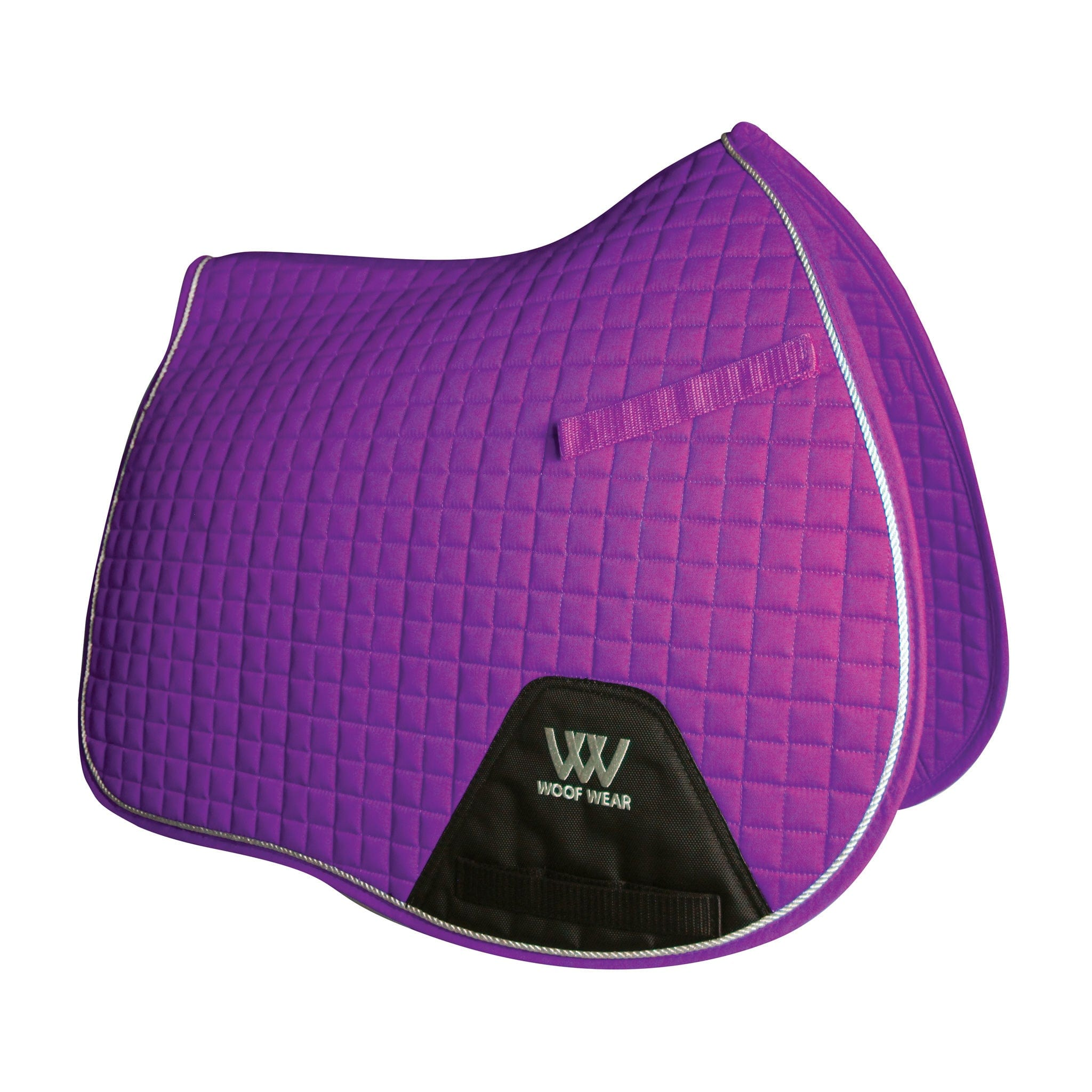 Woof Wear Colour Fusion Contour GP Saddle Cloth WS0001 BKUV Ultra Violet