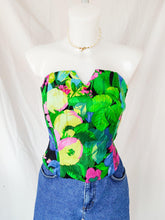 Load image into Gallery viewer, Vintage Max Mara floral bodice
