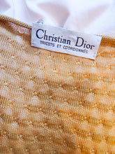 Load image into Gallery viewer, Vintage Christian Dior knit blouse