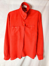 Load image into Gallery viewer, Vintage red button up shirt