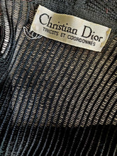 Load image into Gallery viewer, Vintage Christian Dior tie front cardigan