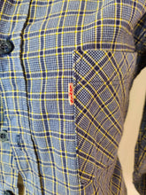 Load image into Gallery viewer, Vintage Levi's blue check patterned shirt