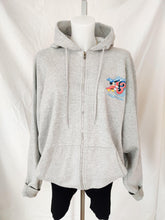 Load image into Gallery viewer, Disney 2013 grey zip up hoodie