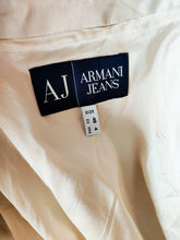 Load image into Gallery viewer, Vintage Armani beige button up blazer