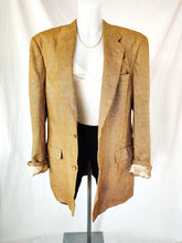 Load image into Gallery viewer, Vintage Burberry brown wool blazer (Size L-XL)
