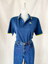 Load image into Gallery viewer, Vintage Kappa blue polo t-shirt