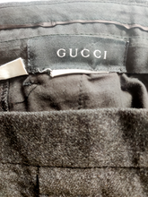 Load image into Gallery viewer, Vintage Gucci high rise wool trousers