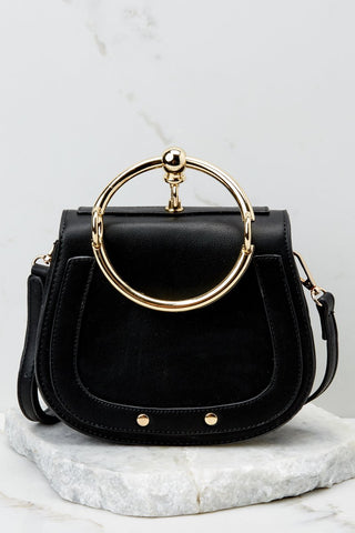 Linked To You Black Purse
