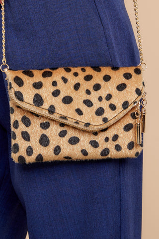 The One For Me Mini Cheetah Clutch