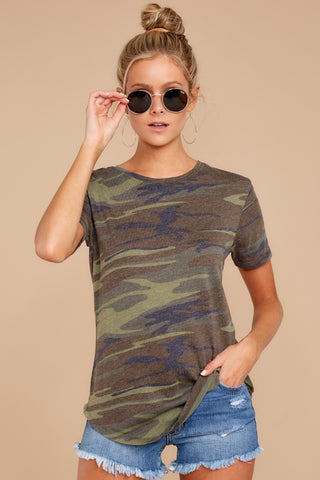 Ultimate Crew Tee In Camo