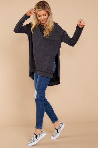 Weekender Sweater In Black (BACKORDER 11/1)