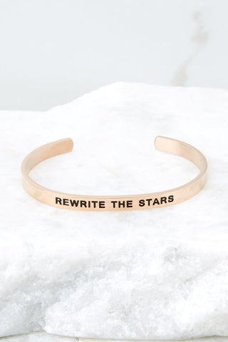 Rewrite The Stars Rose Gold Bracelet