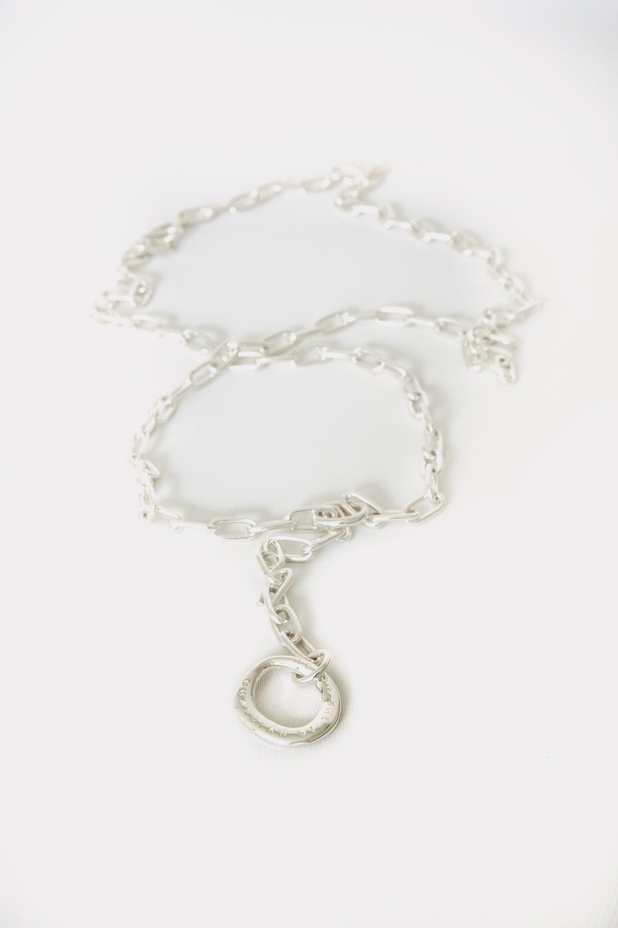 Rugged Necklace in Silver