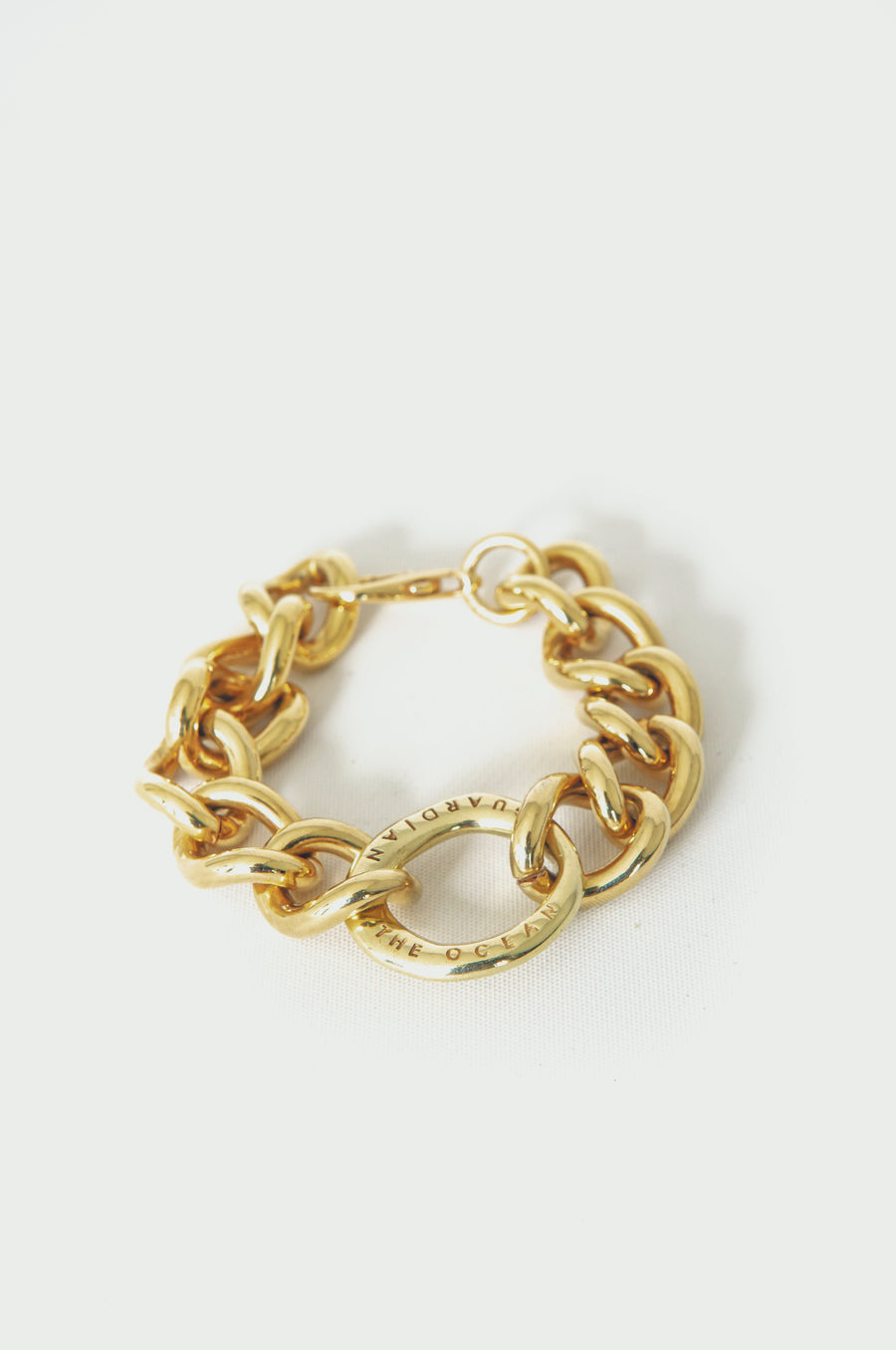Bulky Bracelet in Gold
