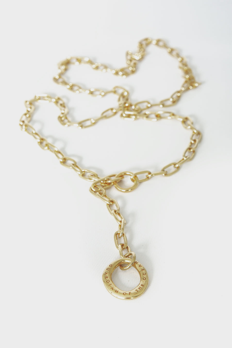 Rugged Necklace in Gold