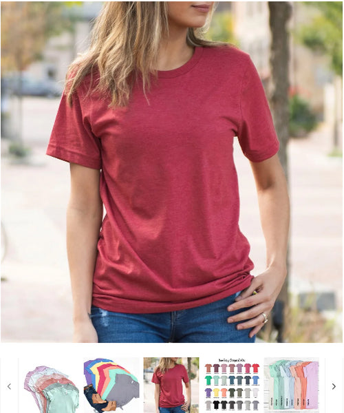 Order Here—> Cute Soft Short Sleeve Tees for $11.99 (was $24.99) 2 days only.