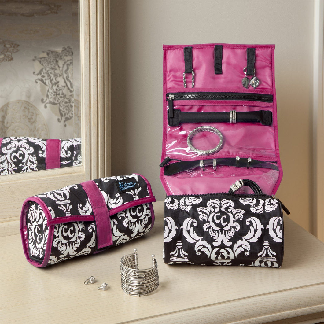 On A Roll - Damask with Pink