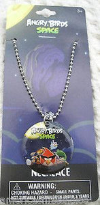 Rovio Kids  Angry Birds Space Dog Tag Necklace Birthday PARTY FAVORS-NEW