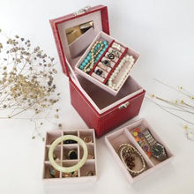 Load image into Gallery viewer, European Small Portable Jewelry Box