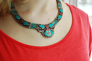 Traditional Karma Dolma Necklace