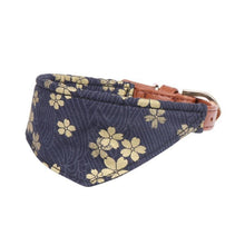 Load image into Gallery viewer, Dog Scarf -Japanese Style Bow Collar Floral Leashes Necklace Outdoor Indoor Supplies