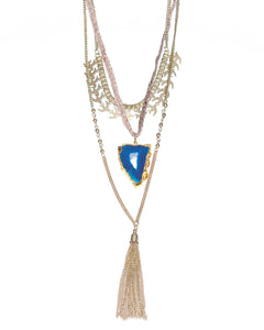 Estelle Multi Layer Necklace (Gold)