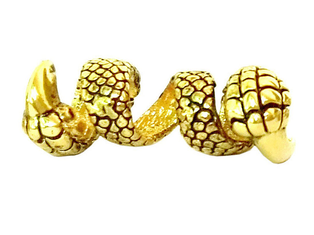 New! Dragon Claw Hair Bead - Gold