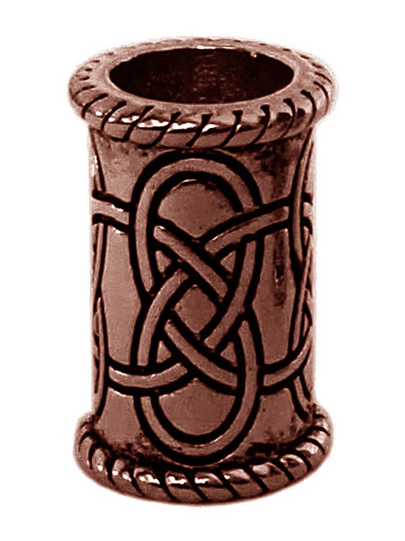 New! Celtic Strength Hair Bead - Copper Regular