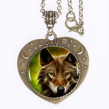 Load image into Gallery viewer, New Wolf Backer Necklace!!!