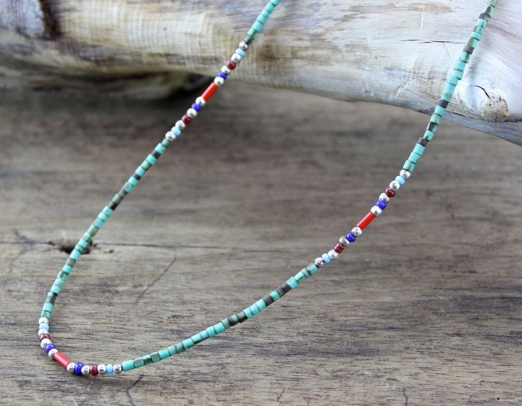 Single Strand Beaded Necklace